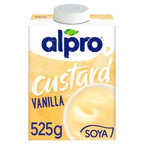 Alpro vanilla soya custard