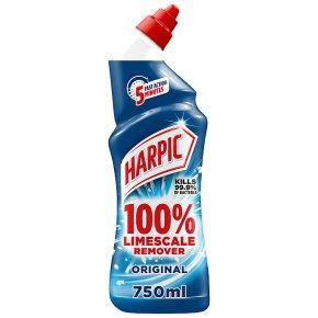 Harpic 100% Limescale Remover Original Toilet Cleaner
