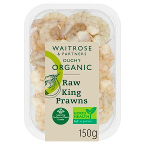 Waitrose Duchy Raw King Prawns