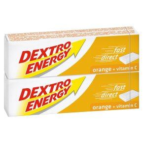 Dextro energy tablets orange
