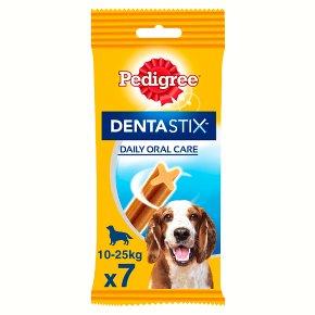 Pedigree Dentastix Daily Dental Chews Medium Dog 7 Sticks Waitrose
