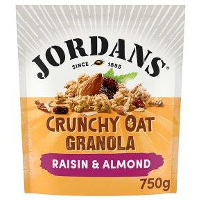 Jordans Crunchy Oat Granola Raisin & Almond