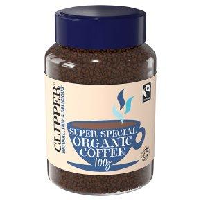 Clipper organic Fairtrade Instant freeze dried Arabica coffee