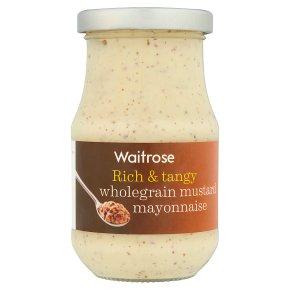 Waitrose wholegrain mustard mayonnaise