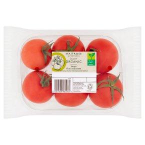 Waitrose Duchy Organic large vine tomatoes