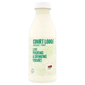 Court Lodge organic bio pouring yogurt