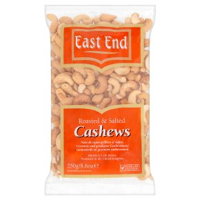 East End Roasted & Salted Cashews