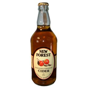 New Forest medium lightly sparkling dry cider