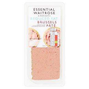 essential Waitrose Reduced Fat Brussels Pâté