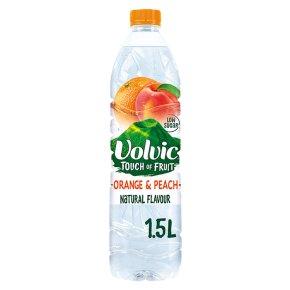 Volvic touch of orange & peach