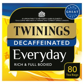 Twinings everyday decaffeinated 80 tea bags