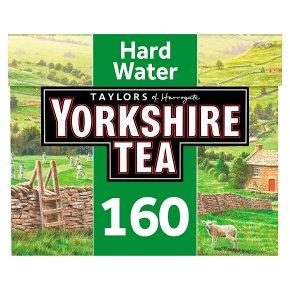 Taylors of Harrogate Yorkshire hard water 160 tea bags