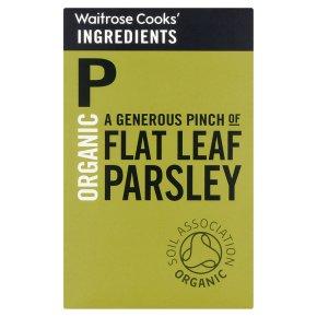 Waitrose Cooks' Ingredients organic flat leaf parsley