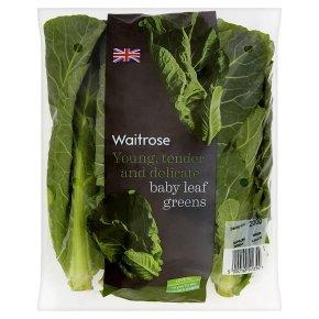 Waitrose baby leaf greens