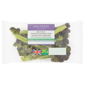 Waitrose purple sprouting broccoli spears