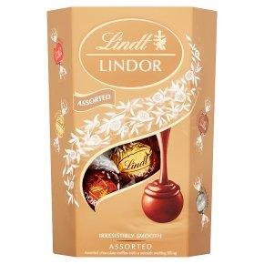 Lindt Lindor assorted chocolate truffles