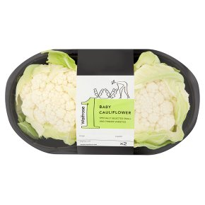Waitrose 1 small cauliflower