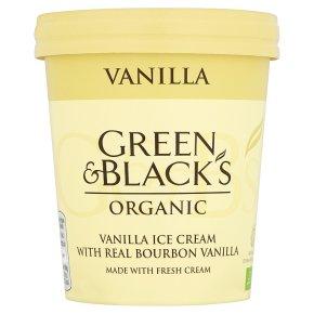 Green & Blacks Organic Vanilla Ice Cream