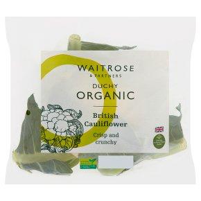 Waitrose Duchy Organic cauliflower