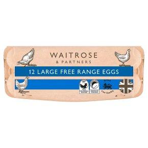 Waitrose British Blacktail large free range eggs