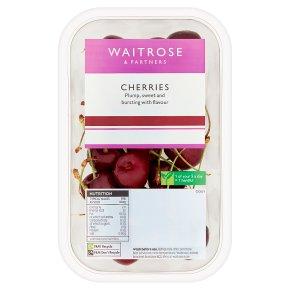 Waitrose sweet and juicy cherries