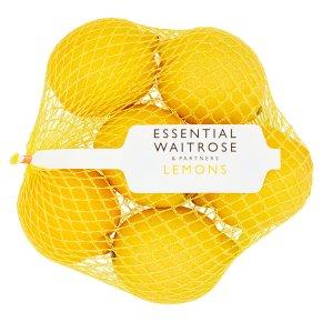 essential Waitrose lemons