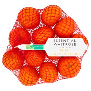 essential Waitrose Mini Easy Peelers