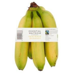 essential Waitrose fairtrade Bananas