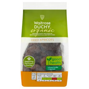Waitrose Duchy organic dried apricots