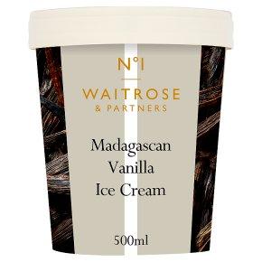 Waitrose 1 Madagascan Vanilla Ice Cream
