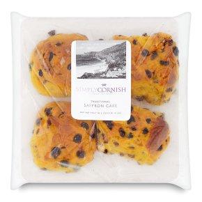 Simply Cornish saffron buns