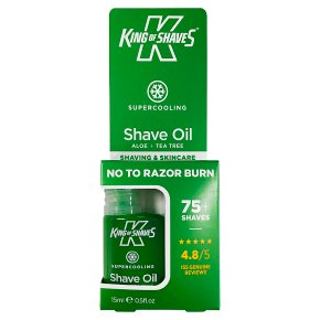 King of Shaves oil cooling