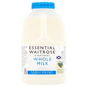 Waitrose Scottish select farm whole milk