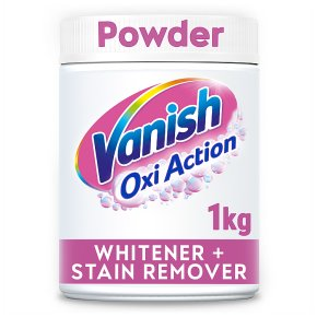 Vanish Oxi Action crystal white powder