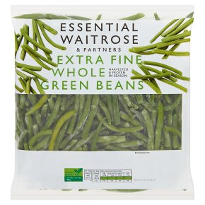 essential Waitrose Extra Fine Whole Green Beans