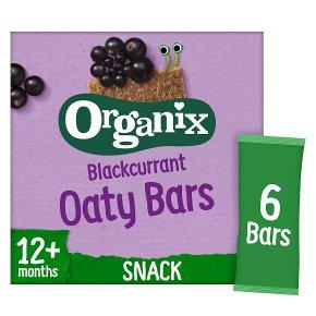 Organix organic goodies blackcurrant bars