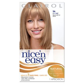 Nice n Easy Natural Light Ash Blonde 102 Hair Colour