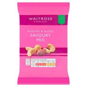 Waitrose roasted salted savoury mixed nuts