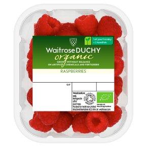 Waitrose Duchy Organic raspberries