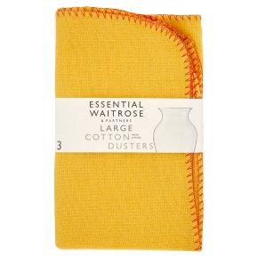 essential Waitrose large cotton dusters