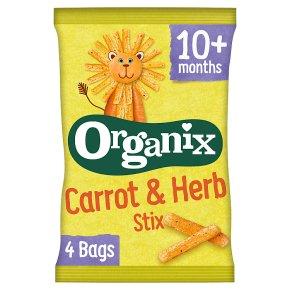 Organix goodies organic carrot stix