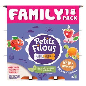 Petits Filous Strawberry, Raspberry and Apricot Fromage Frais