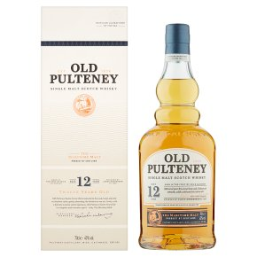 Old Pulteney Single Malt Whisky 12 years old