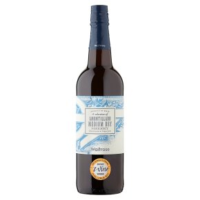 Waitrose Amontillado, Sherry