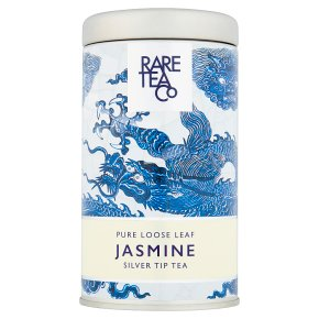 Rare Tea Co loose jasmine tip tea