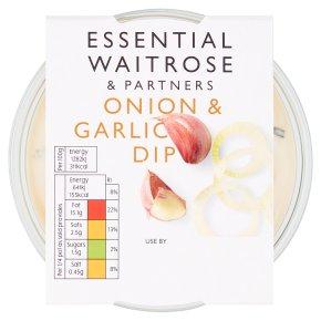 essential Waitrose onion & garlic dip