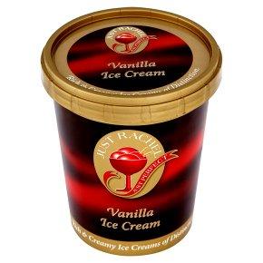 Just Rachel vanilla ice cream