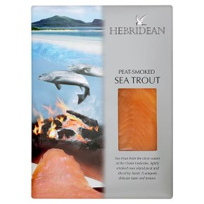Hebridean peat-smoked sea trout