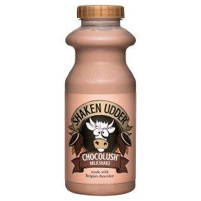 Shaken Udder chocolush milkshake