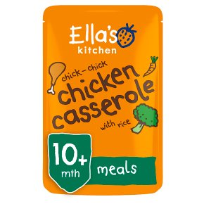 Ella's Kitchen Organic chick-chick chicken casserole with rice - stage 3 baby food